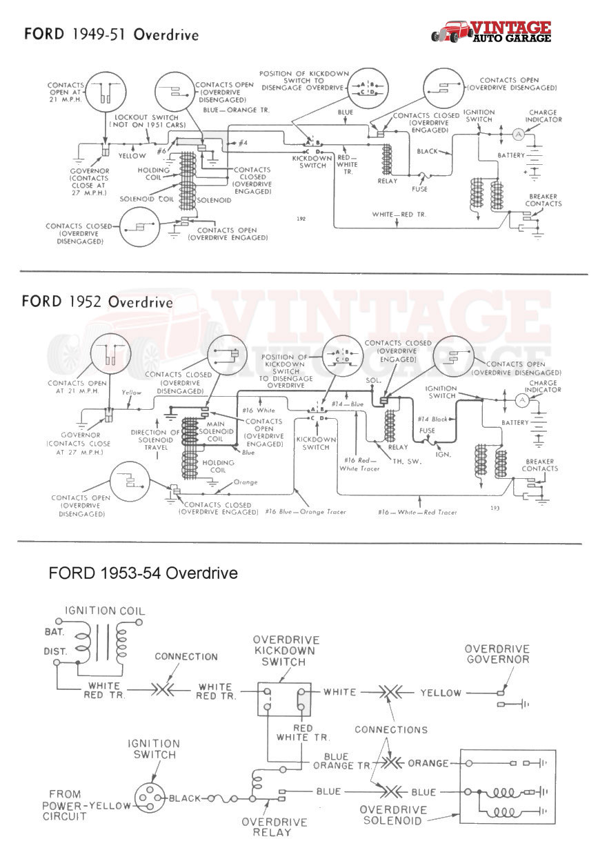 53 ford overdrive wiring diagram wiring diagram ford flathead wiring wiring diagram